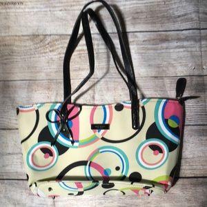 Kate Spade Geometric Circle Handbag Tote